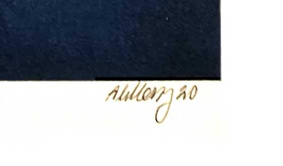 Ole Ahlberg signatur